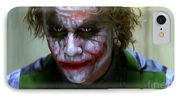 Why So Serious IPhone Case by Paul Tagliamonte