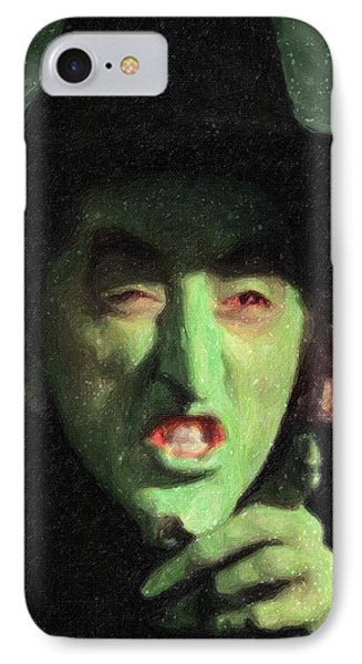 Wicked Witch Of The East IPhone Case by Taylan Apukovska