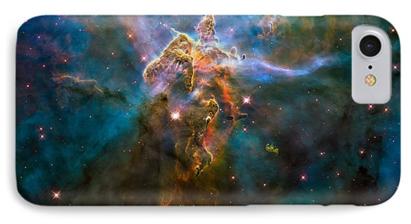 Wide View Of Mystic Mountain IPhone Case by Marco Oliveira