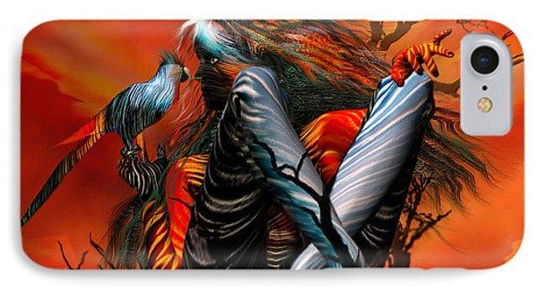 Wild Birds Phone Case by Carol Cavalaris
