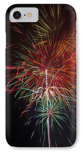 Wild Fireworks IPhone Case by Garry Gay