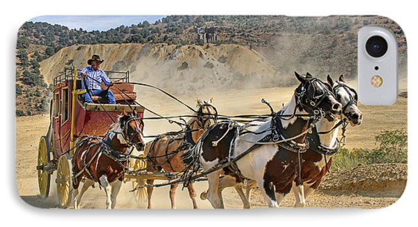 Wild West Ride Phone Case by Donna Kennedy
