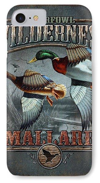 Wilderness Mallard IPhone Case by JQ Licensing
