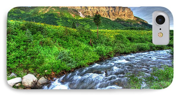 Wildflower River IPhone Case by Scott Mahon