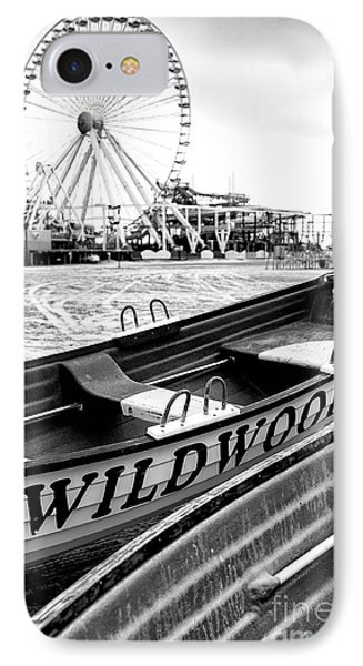Wildwood Black IPhone Case by John Rizzuto