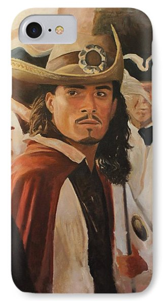 Will Turner IPhone 7 Case by Caleb Thomas
