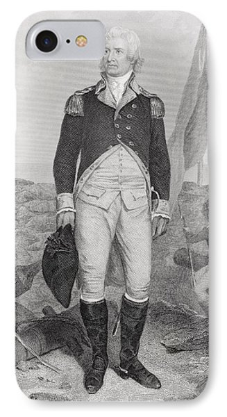 William Moultrie 1730 - 1805. American IPhone Case by Vintage Design Pics