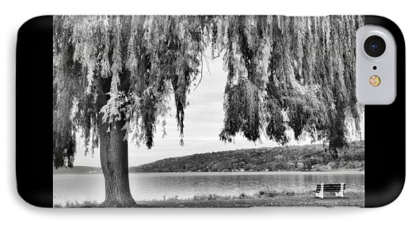 Willows Of Lake Cayuga IPhone Case by Jessica Jenney