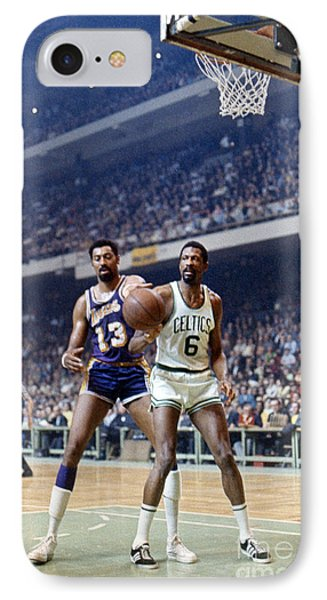 Wilt Chamberlain (1936-1999) IPhone 7 Case by Granger