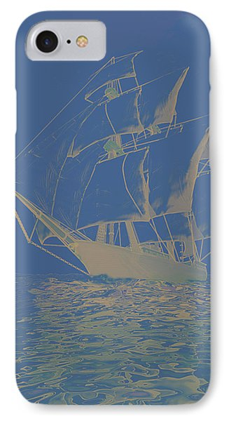 Windjammer IPhone Case by Carol and Mike Werner