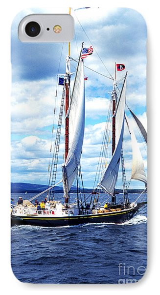 Windjamming IPhone Case by Thomas R Fletcher