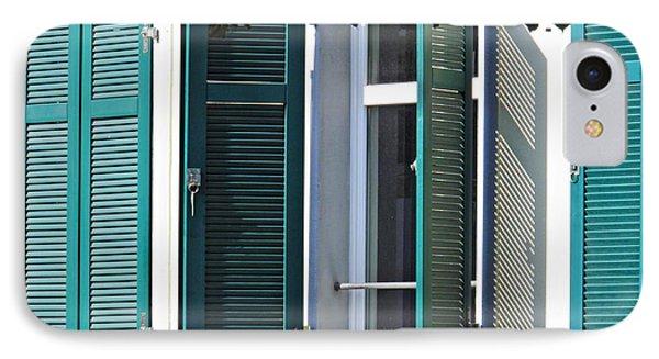 Windows In Biebrich 1 IPhone Case by Sarah Loft