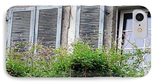 Windows In Rudesheim 2 IPhone Case by Sarah Loft