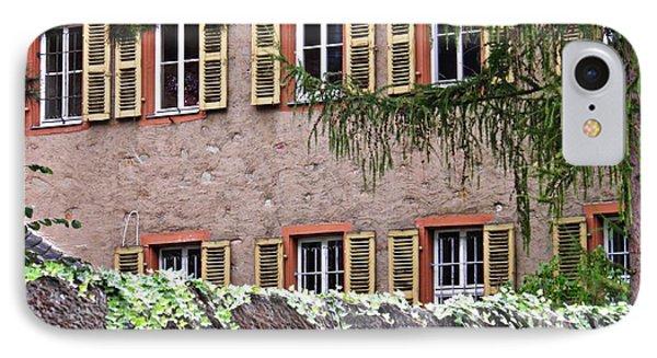 Windows In Rudesheim IPhone Case by Sarah Loft