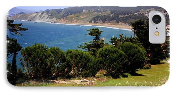 Windswept Over San Francisco Bay IPhone Case by Carol Groenen