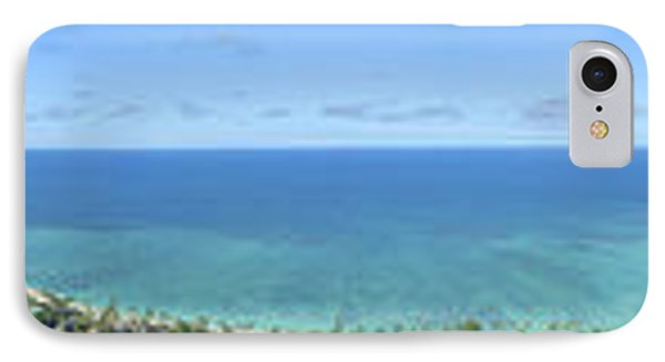 Windward Oahu Panoramic Phone Case by David Cornwell/First Light Pictures, Inc - Printscapes