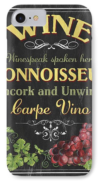 Wine Cellar 2 IPhone Case by Debbie DeWitt
