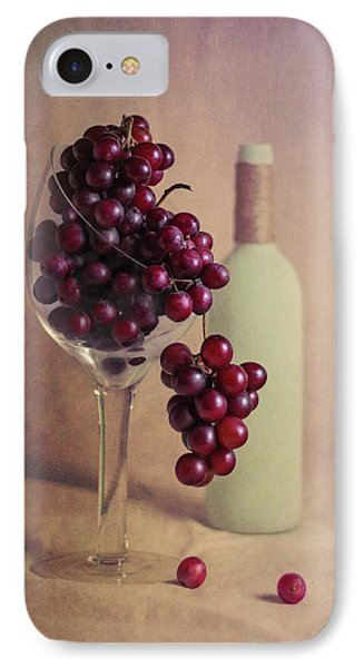 Wine On The Vine IPhone Case by Tom Mc Nemar