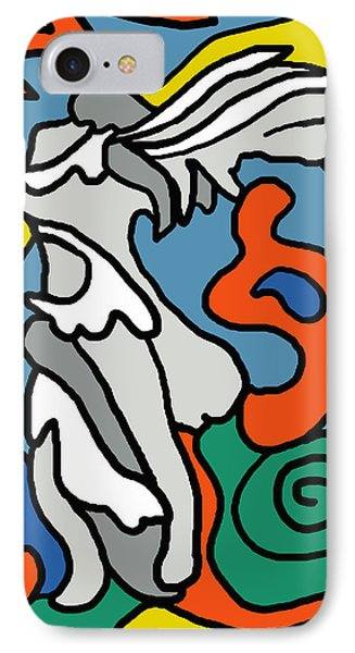 Winged Victory Imagined IPhone Case by Linda Mears