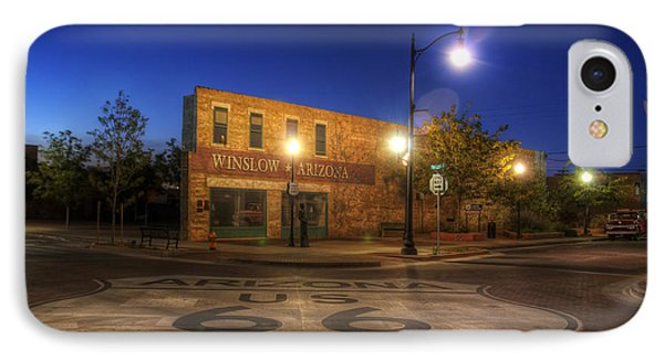 Winslow Corner IPhone Case by Wayne Stadler