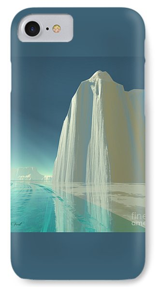 Winter Crystal Phone Case by Corey Ford
