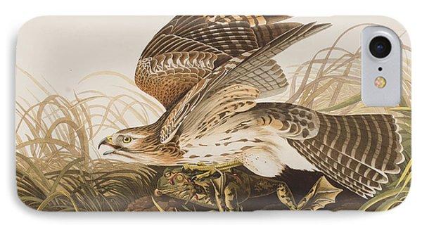 Winter Hawk IPhone 7 Case by John James Audubon