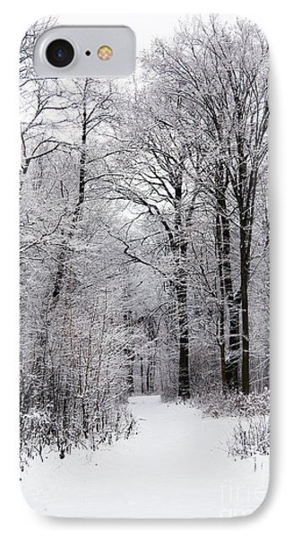 Winter In The Forest Phone Case by Gabriela Insuratelu