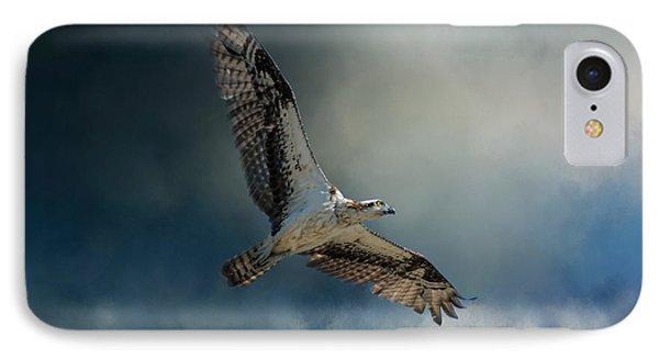 Winter Osprey IPhone 7 Case by Jai Johnson
