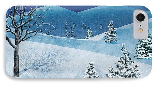 Winter Solstice Phone Case by Bedros Awak