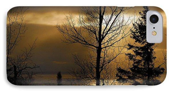 Winter Sunrise 1 IPhone Case by Sebastian Musial