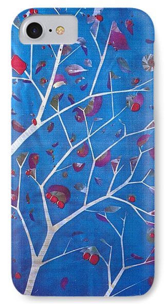 Winter Tree Phone Case by Rick Silas
