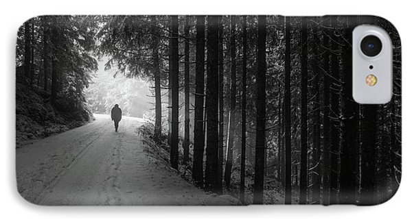 Winter Walk - Austria IPhone Case by Mountain Dreams