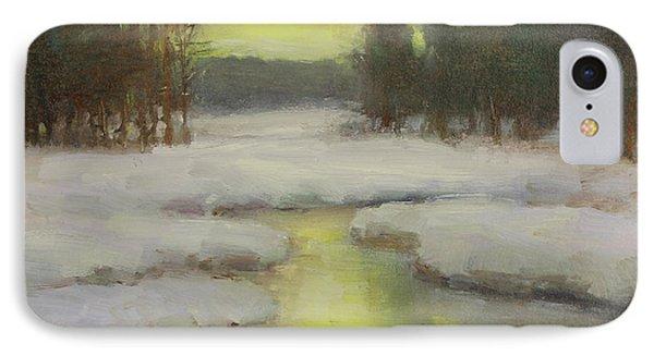 Winter's Glow IPhone Case by Lori McNee