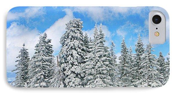 Winterscape IPhone Case by Jeff Kolker