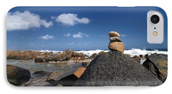 Wishing Rocks Aruba Phone Case by Amy Cicconi