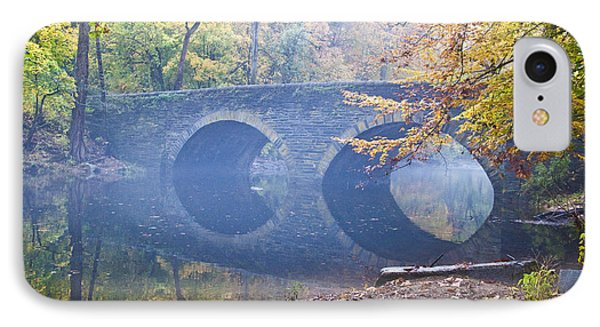 Wissahickon Creek At Bells Mill Rd. IPhone Case by Bill Cannon