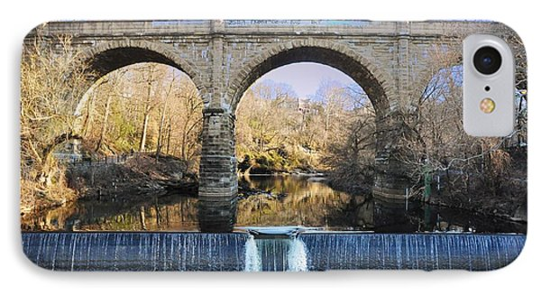 Wissahickon Viaduct Phone Case by Bill Cannon
