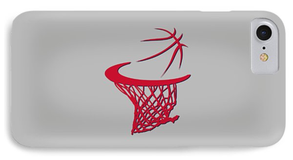 Wizards Basketball Hoop IPhone Case by Joe Hamilton