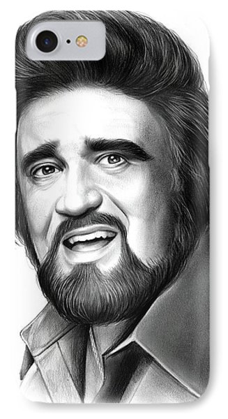Wolfman Jack IPhone Case by Greg Joens