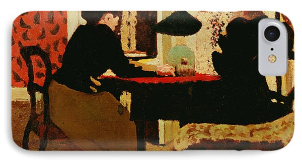 Women By Lamplight Phone Case by vVuillard