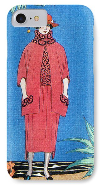 Womens Fashion, George Barbier, 1921 IPhone Case by Science Source