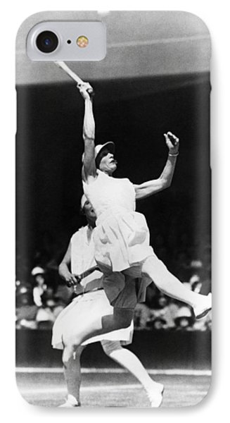 Women's Tennis At Wimbledon IPhone Case by Underwood Archives
