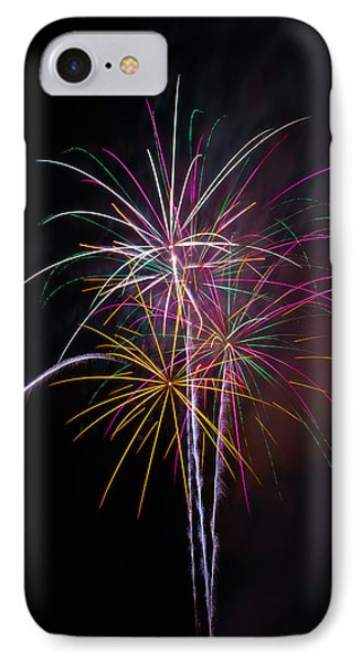 Wonderful Fireworks IPhone Case by Garry Gay