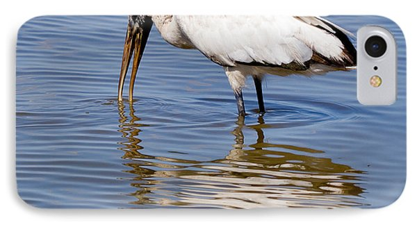 Wood Stork IPhone 7 Case by Louise Heusinkveld