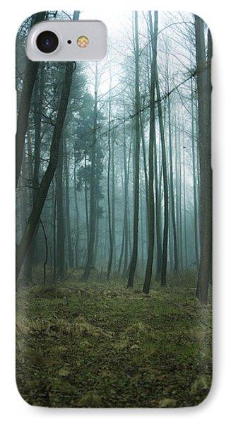 Woods IPhone Case by Joanna Jankowska