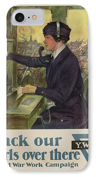 World War I Ywca Poster IPhone Case by Clarence F Underwood