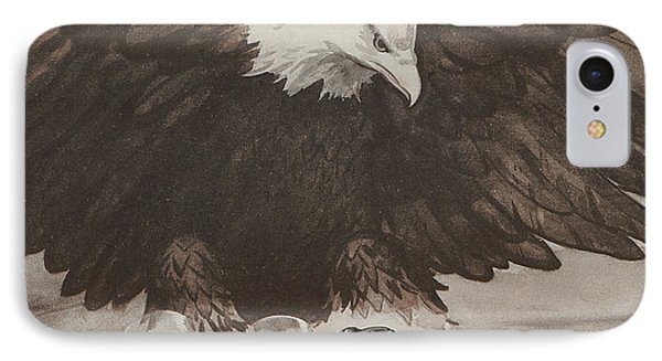 World War II Advertisement IPhone Case by American School