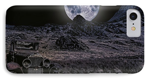 Wrecked By Moonlight  IPhone Case by Chris Evans