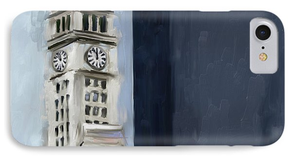 Wrigley Building 11 526 1 IPhone Case by Mawra Tahreem