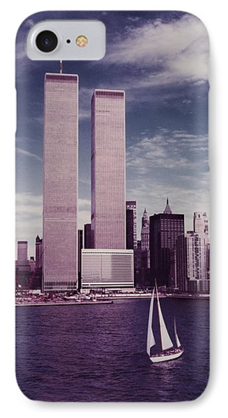 wtc Remembered IPhone Case by Laura Fasulo